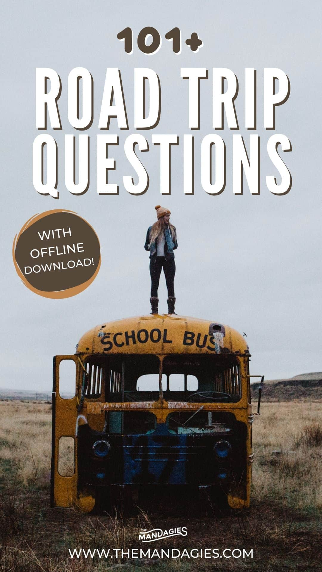 Bored in the car and you're in the car bored? Spice up any road trip adventure with these 101+ road trip questions! From funny to seriously, you'll be besties by the end of your journey. Download the list offline for free too! #roadtrip #friends #adventure #vacation #USA #travel #questions #couplesquestions