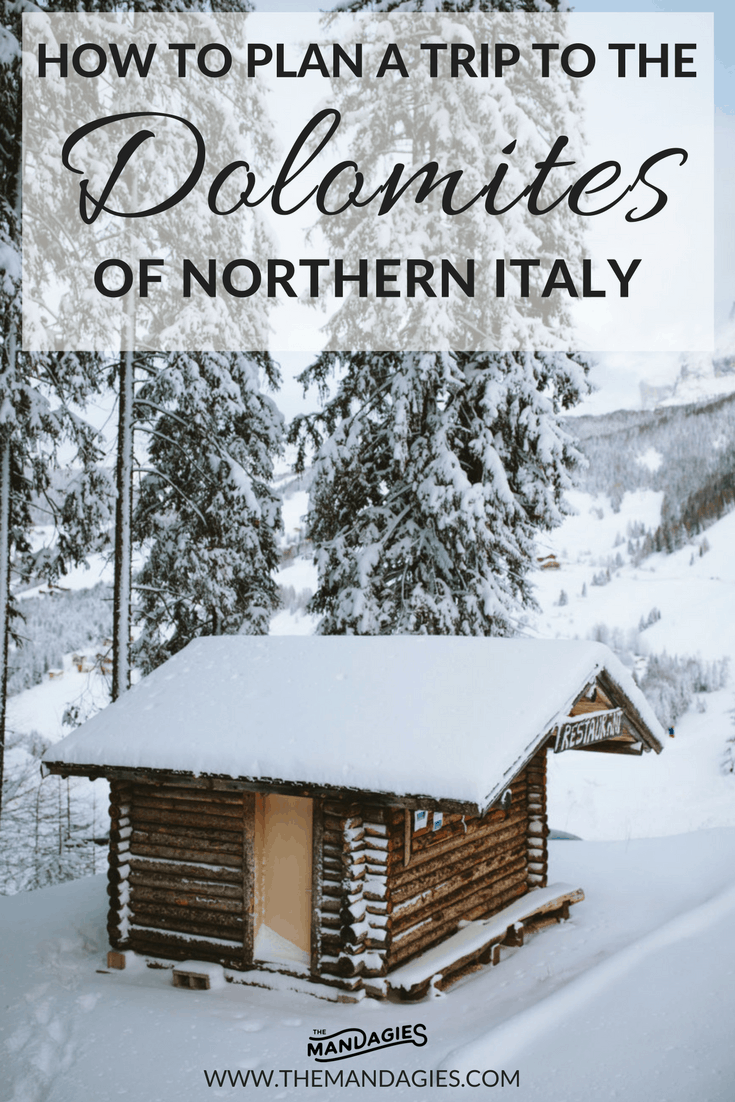 Plan the ultimate trip to Northern Italy and explore the Dolomites! TheMandagies.com