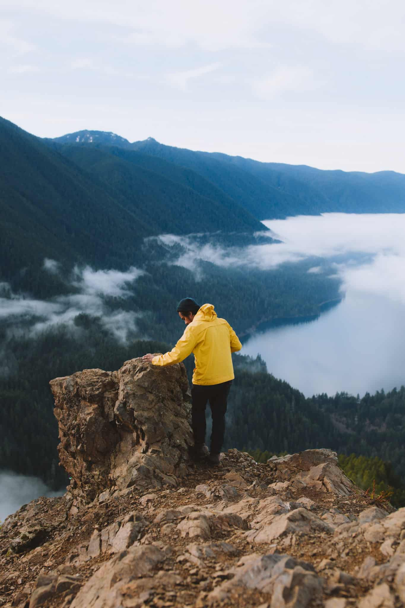 Conquer Mount Storm King with us in this epic adventure post. Located in Washington State on the Olympic Peninsula, this hike is ready to challenge any adventure lover - only the bravest will be rewarded with sweeping views of the valley below!