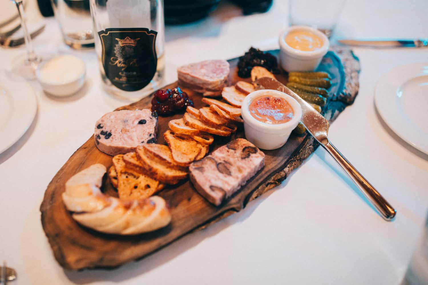 Charcuterie Board at King Estate Winery - Day Trips from Eugene, Oregon - TheMandagies.com