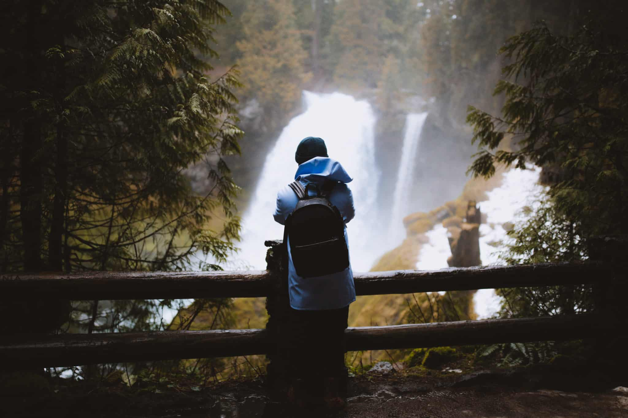 Waterfalls in Oregon - Koosah Falls