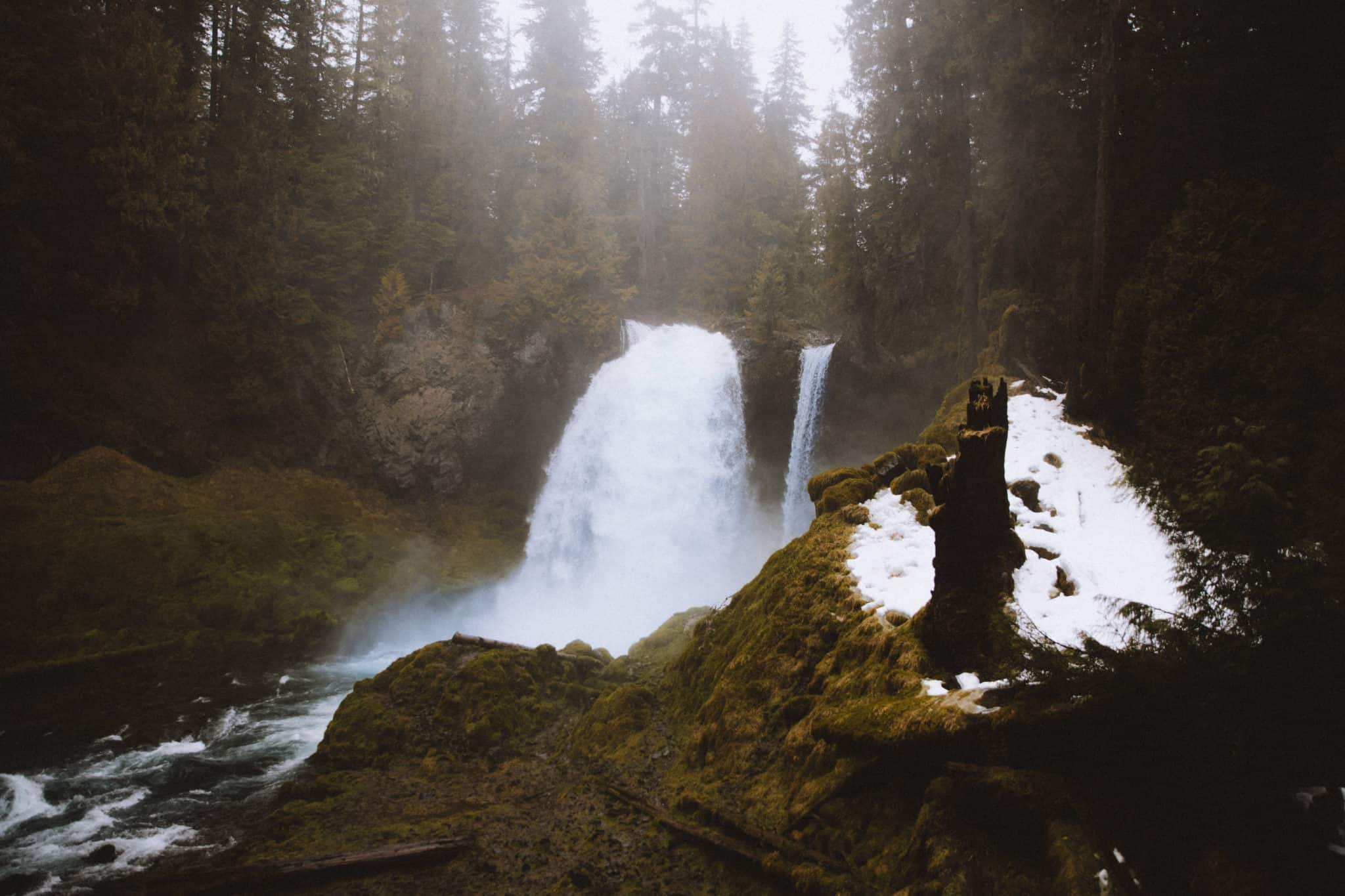 Waterfalls in Oregon - Sahalie Falls