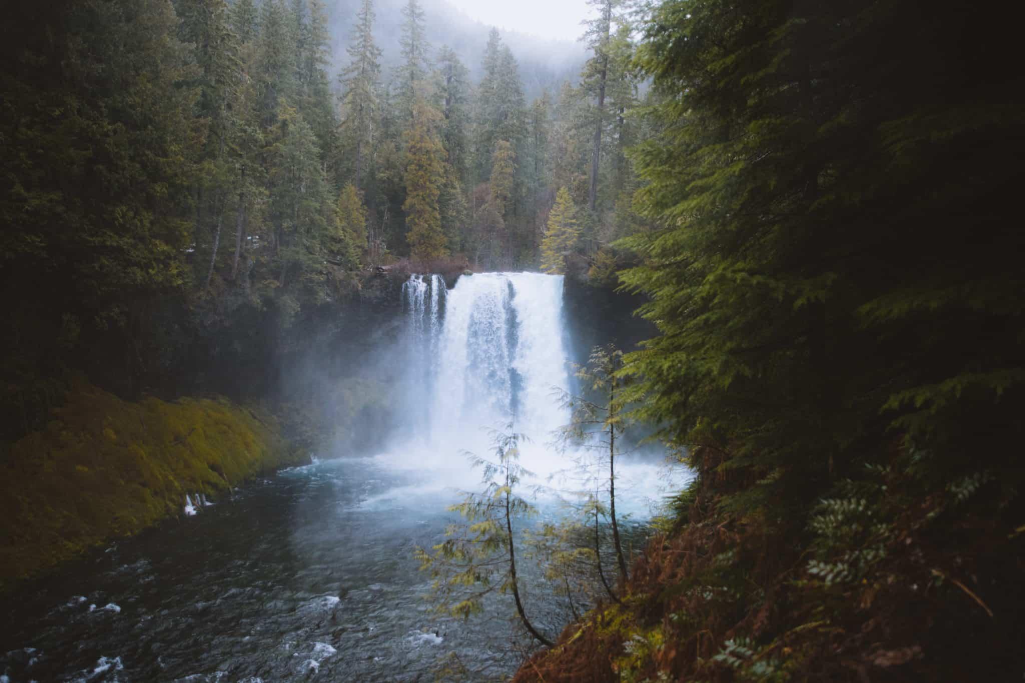 Koosah Falls - Hiking In The Pacific Northwest - TheMandagies.com