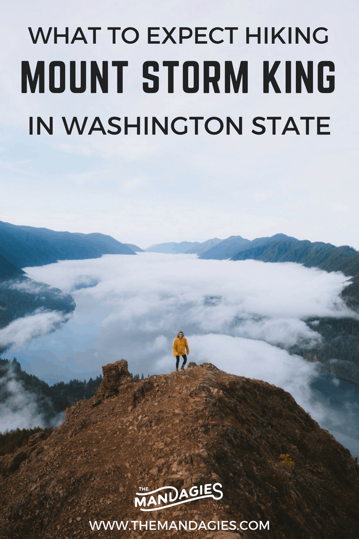 "data-pin-description=""Discover what it's like to climb to the top of Mount Storm King in Washington state. This Olympic National Park hike is sure to land a spot on your Pacific Northwest Bucket List #PNW #Washington #OlympicNationalPark #lakecrescent #hike"""