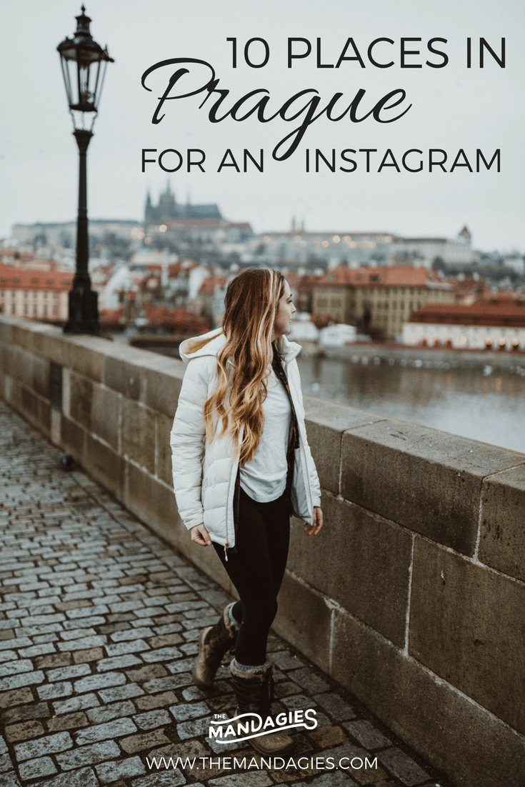 "Discover gorgeous and unique locations in Prague! We're veering off the classic ""top 10 tourist locations"" blog post and giving you the most gorgeous and underrated Instagram spots in Prague, definitely worthy of your visit."