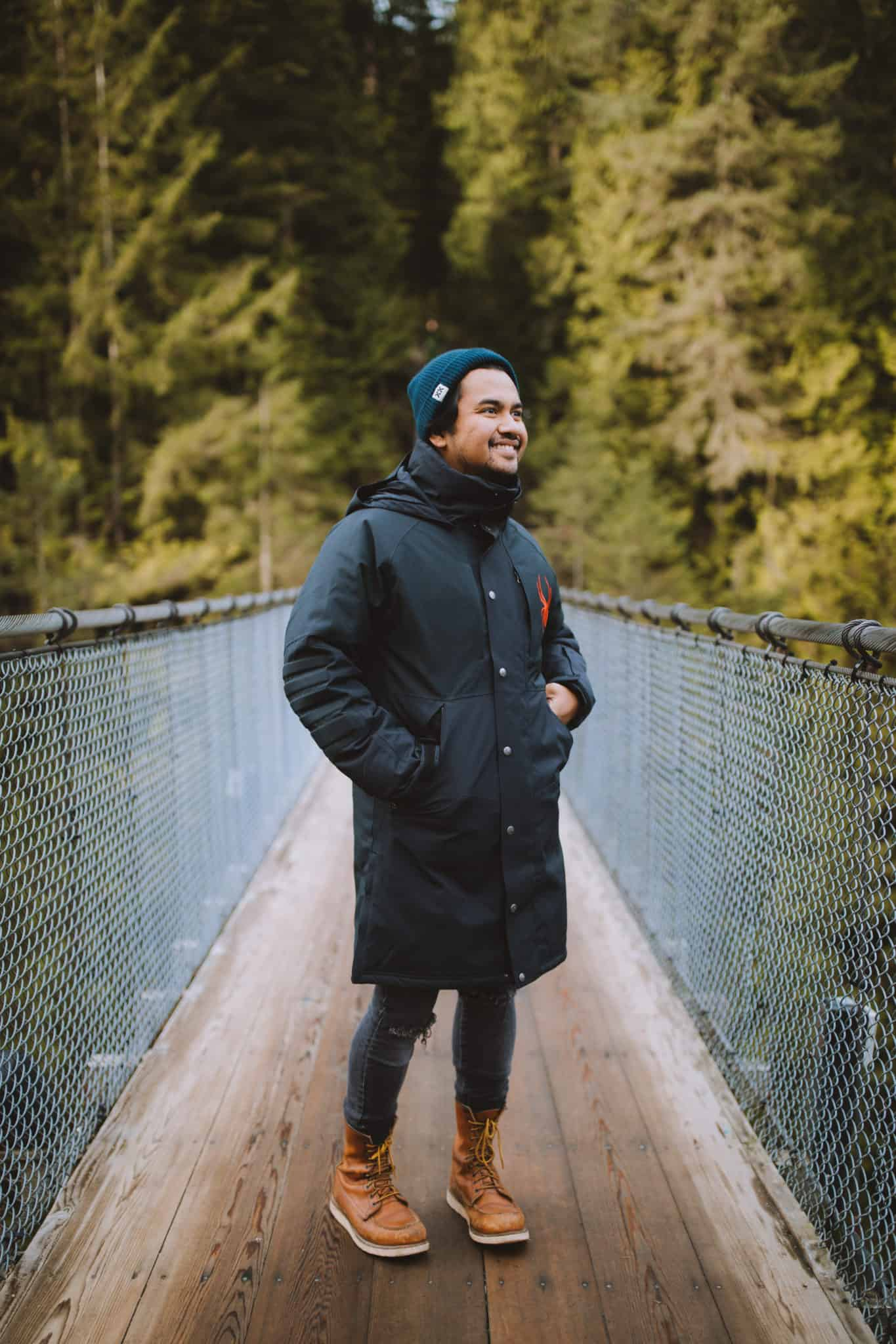 Berty at Capilano Suspension Bridge Park