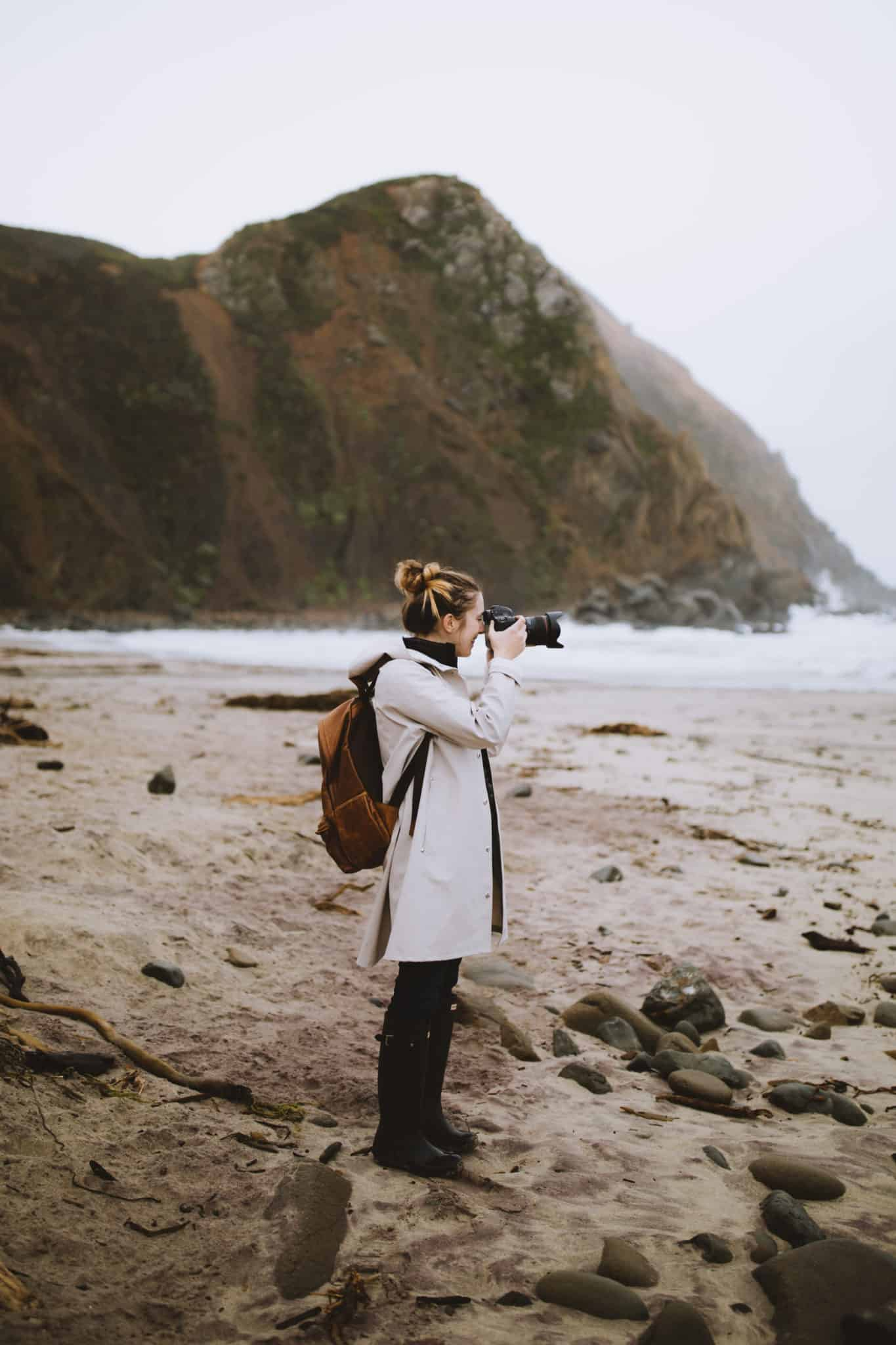 Emily at Pfeiffer Beach - Packing List For San Francisco Post