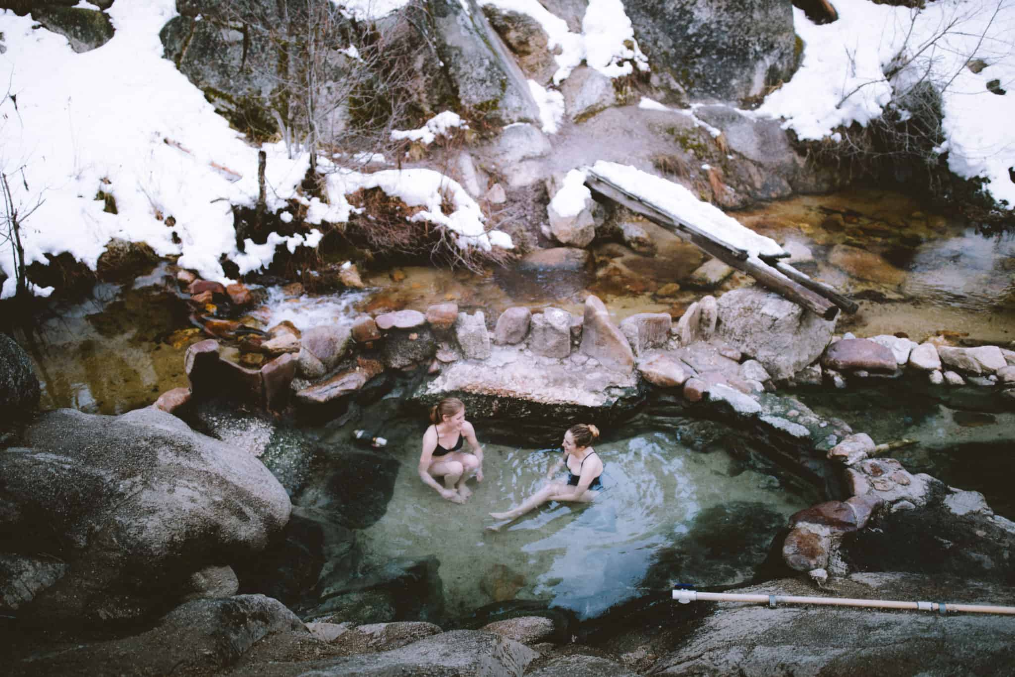 Trail Creek Hot Springs - Things To Do In McCall, Idaho In Winter
