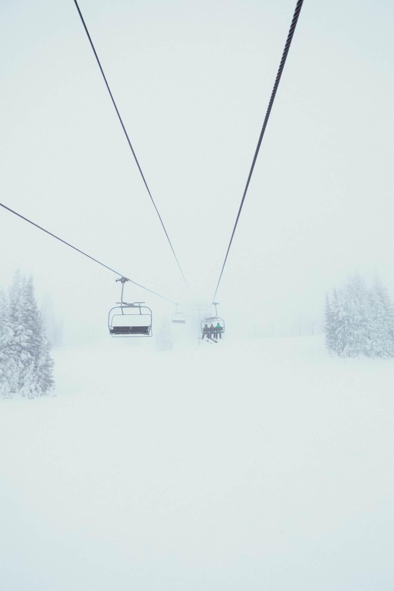 Brundage Mountain Ski Lift - The Mandagies Visit McCall Post