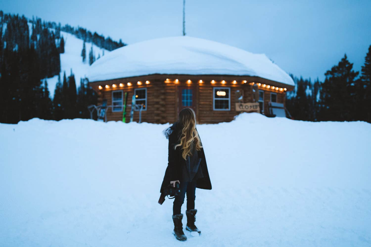 Emily Mandagie at Brundage Mountain in McCall, Idaho -TheMandagies.com