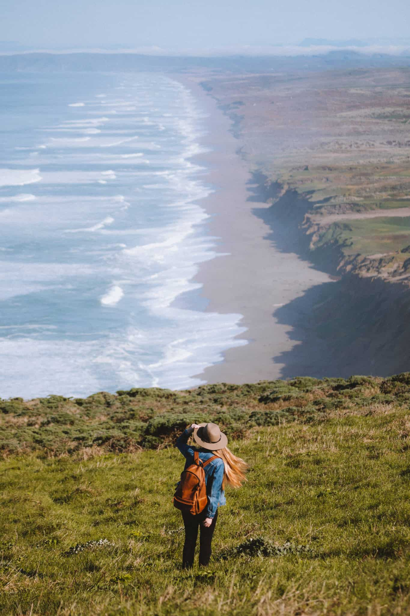 South Beach Overlook at Point Reyes - TheMandagies