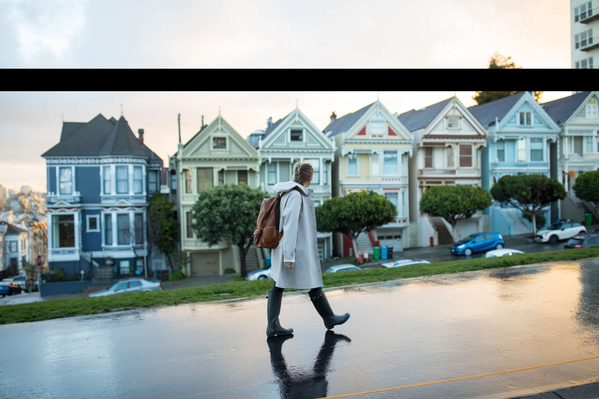 Emily in Stutterheim Light Sand Raincoat - Packing List For San Francisco Post