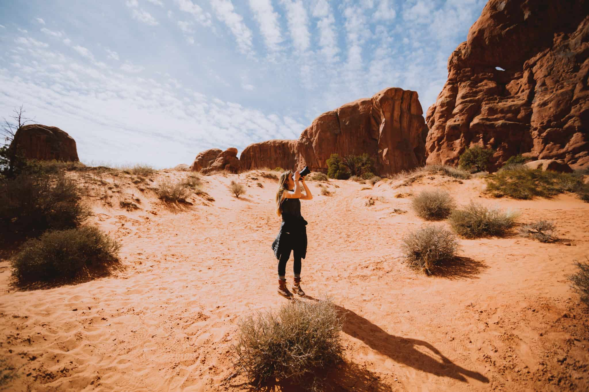 Double Arch - 10 Amazing Hikes in Arches National Park