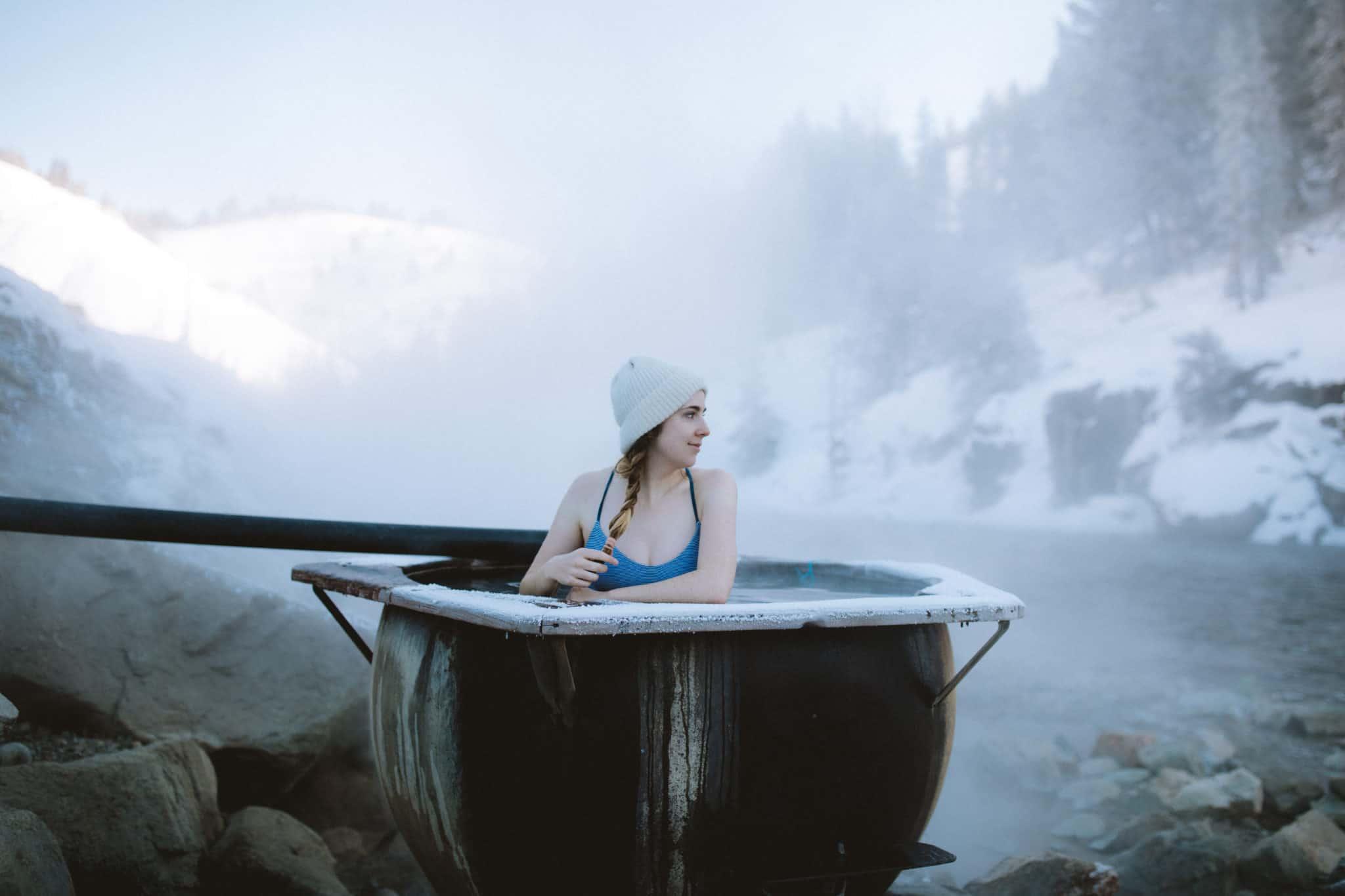 Emily Mandagie in Idaho Hot Springs -TheMandagies.com