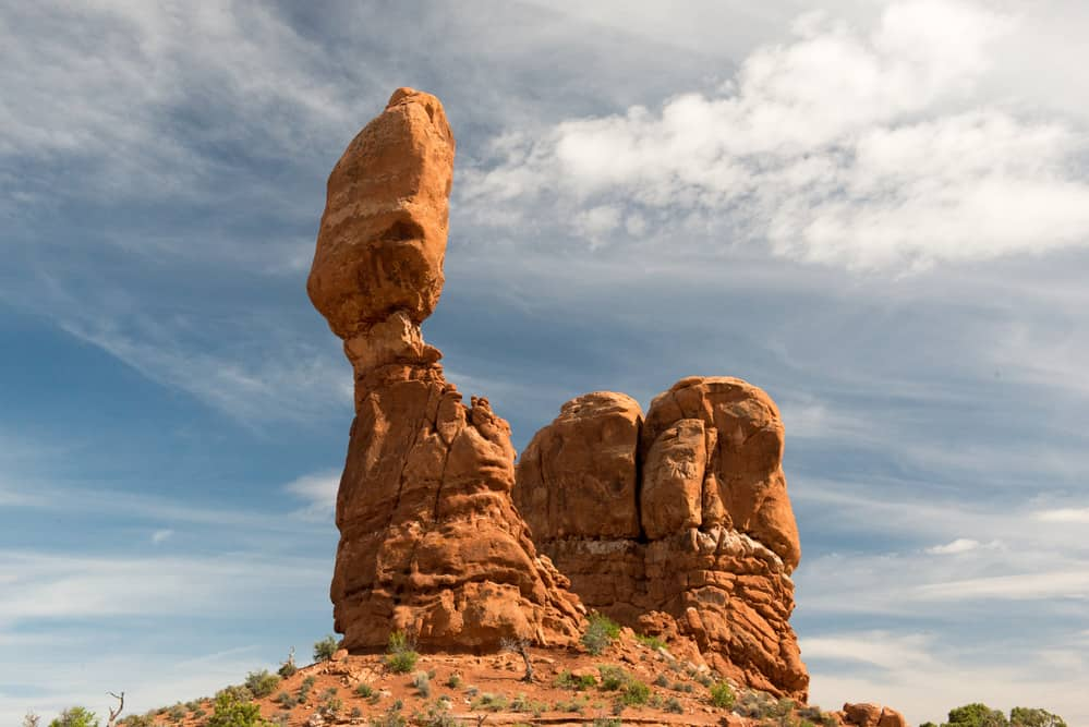 Balanced Rock - 10 Amazing Hikes in Arches National Park
