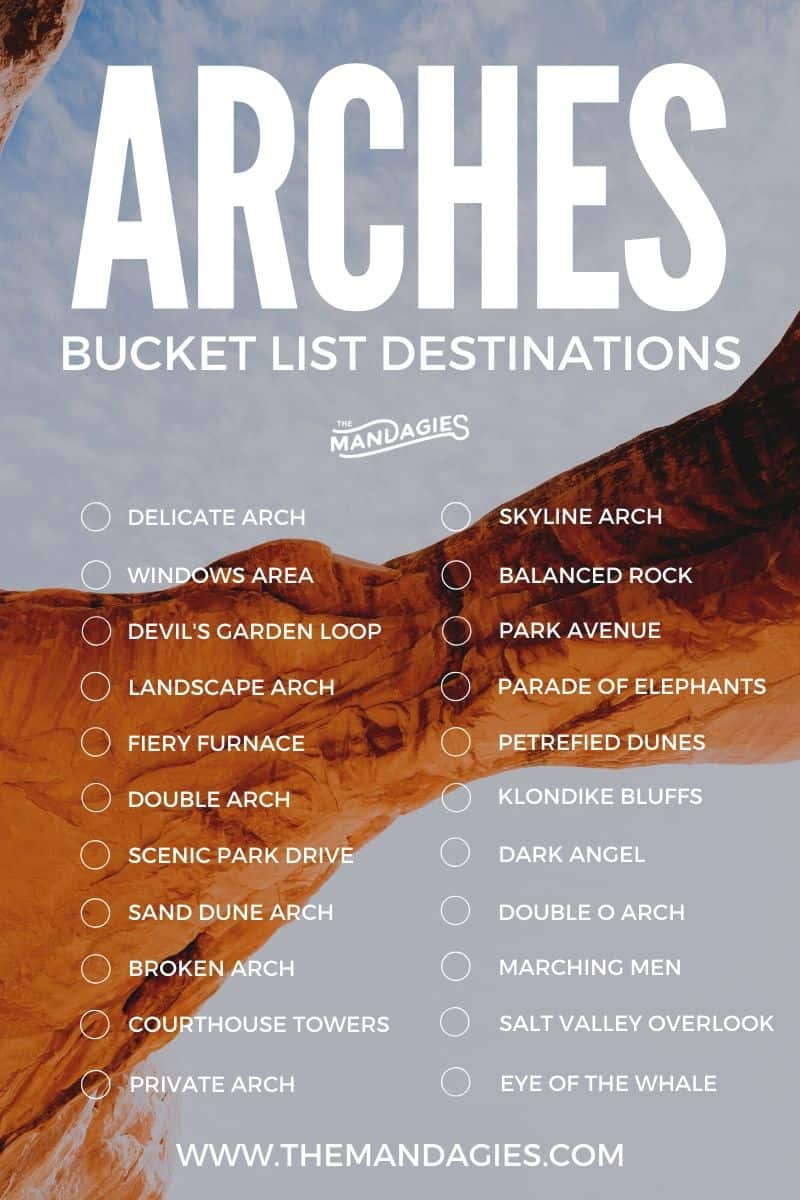 Planning a trip to Arches National Park? Save this post for your next epic adventure because we're sharing how to maximize your time in the park and see as much as possible! From hiking delicate arch to the Devil's Garden Loop, we're sharing the best hikes, best viewpoints and more! #arches #archesnationalpark #archesNPS #moab #utah #nationalpark #desert #photography #hiking #itinerary #travel #adventure