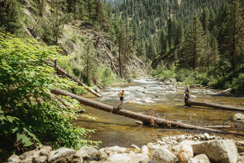 How To Reach Rocky Canyon Hot Springs Near McCall, Idaho