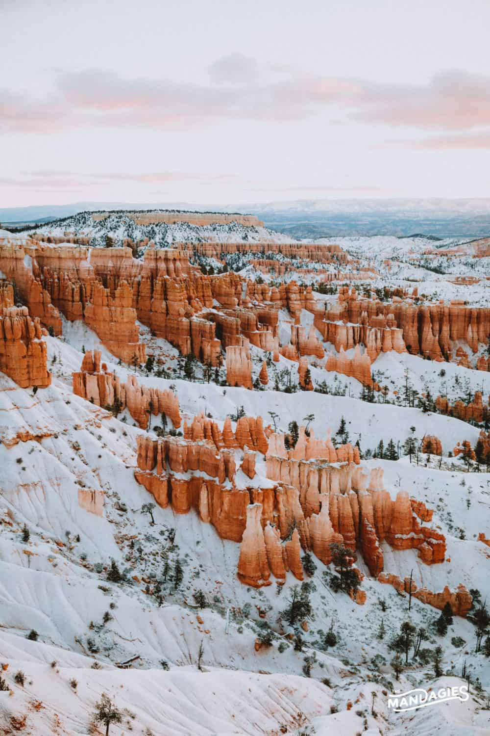 Bryce Canyon National Park In Winter - Utah - TheMandagies.com