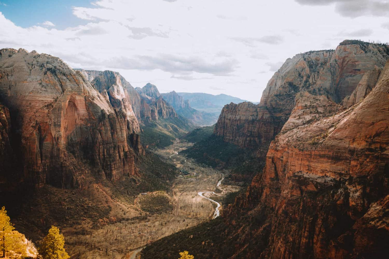View of Zion National Park - Southwest Road Trip Destination -TheMandagies.com