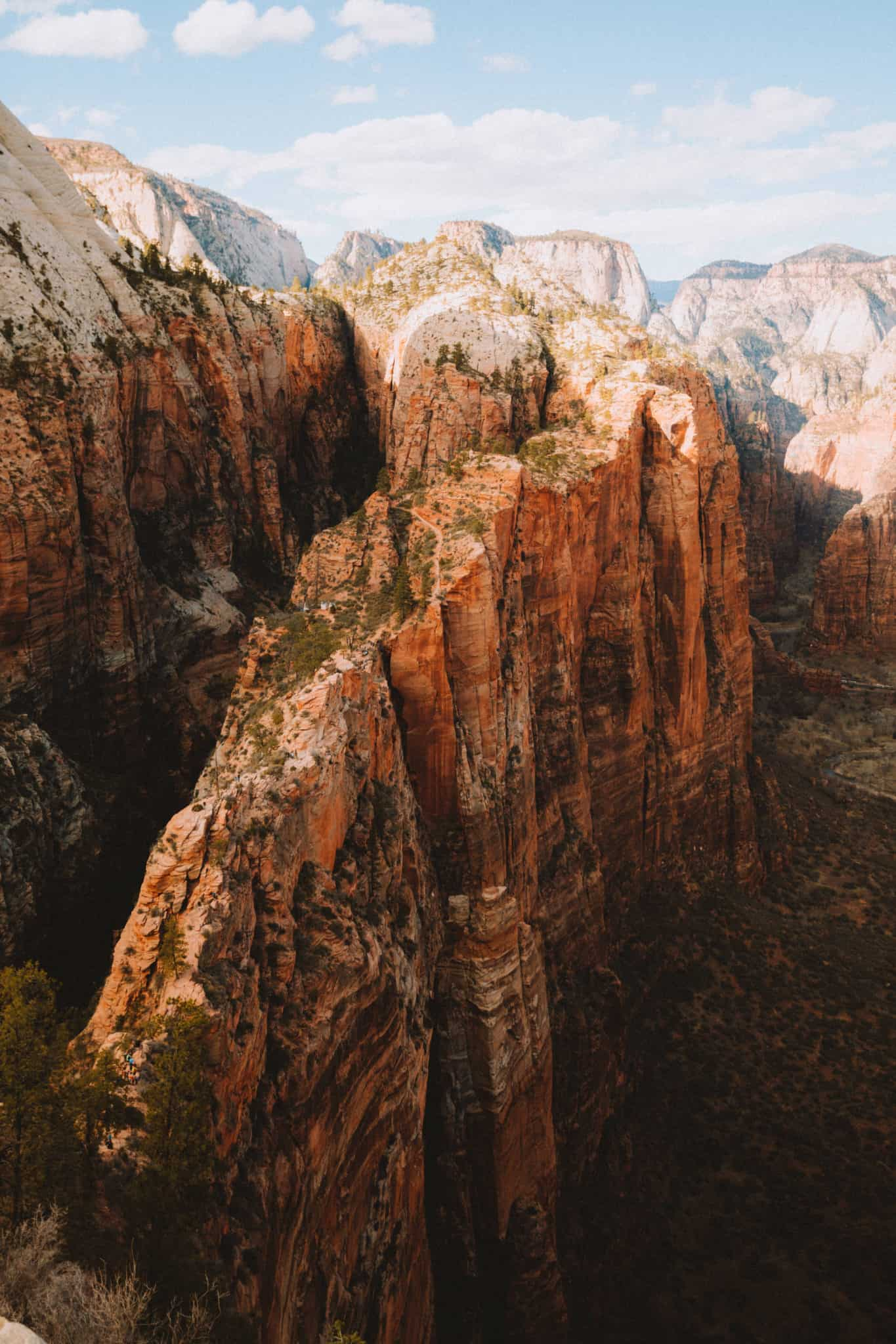 American Southwest road trip stops - Zion National Park