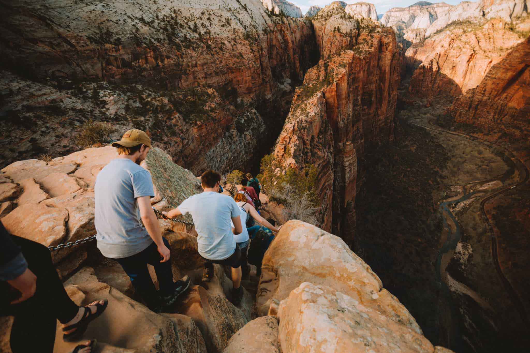 Angels Landing - The Mandagies