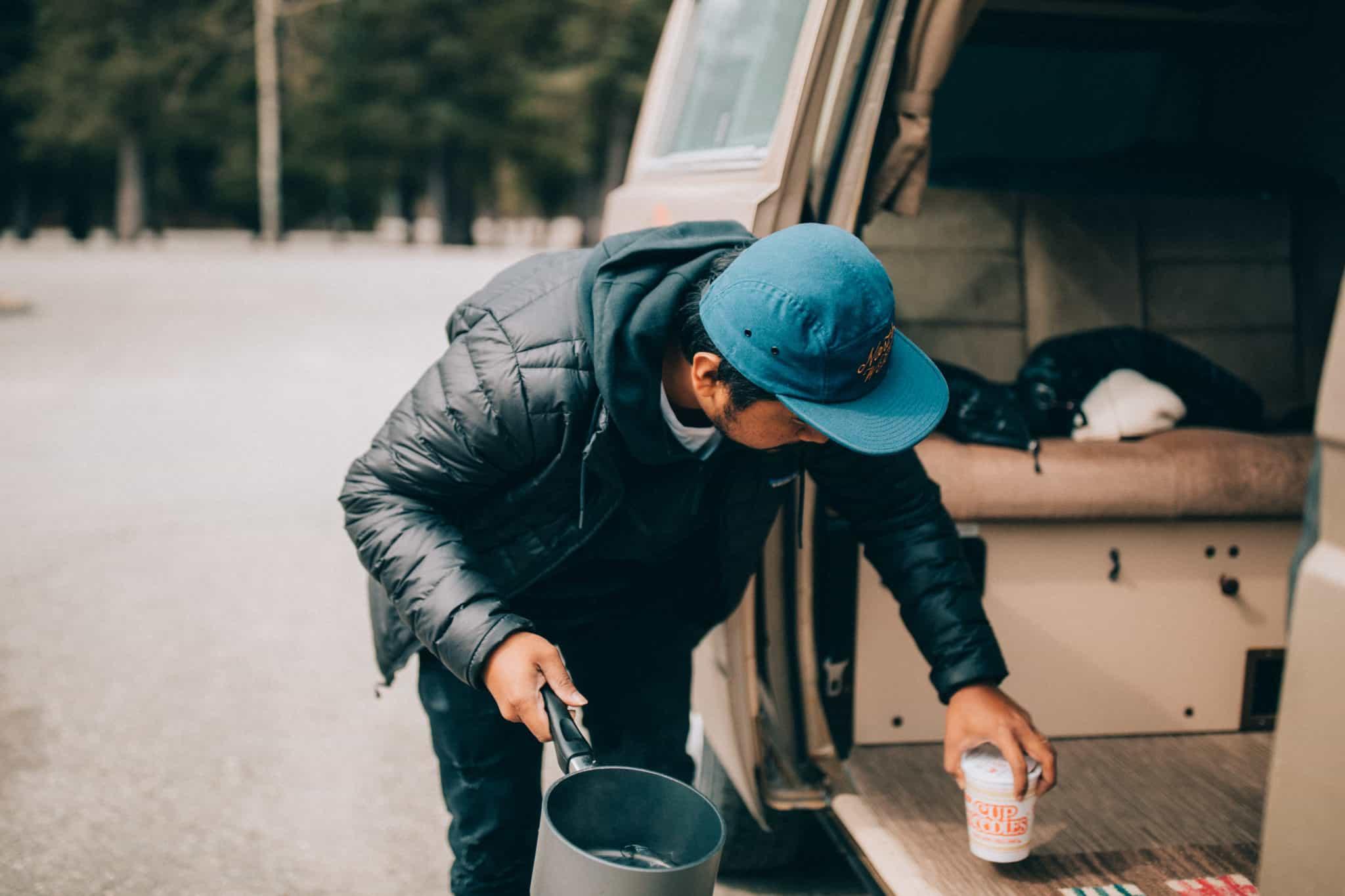 Easy Camping Meals - Cup o Noodles- TheMandagies.com