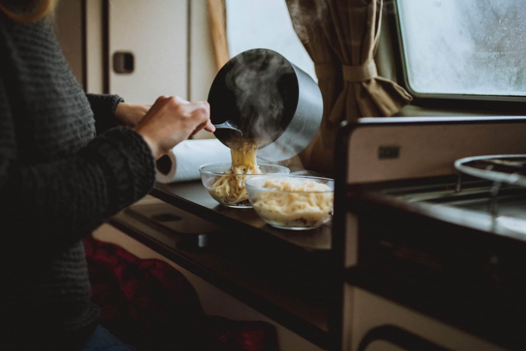 Easy Camping Meals - Pasta Roni - TheMandagies.com