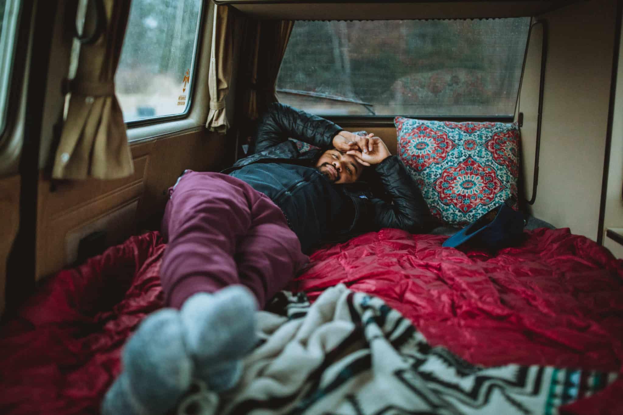 A Peek At Camping In A Vintage Vw Westfalia In Alaska The Mandagies