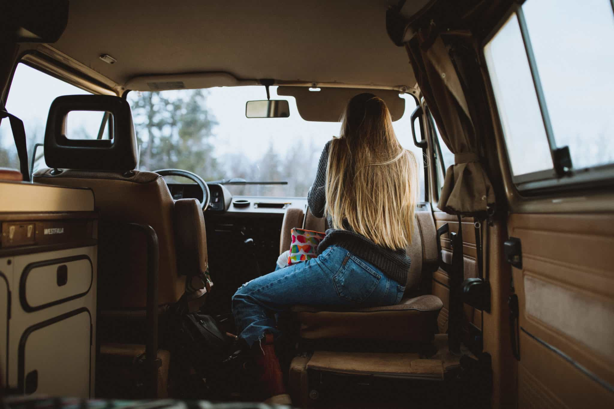 Lounging In The VW Westfalia - TheMandagies.com