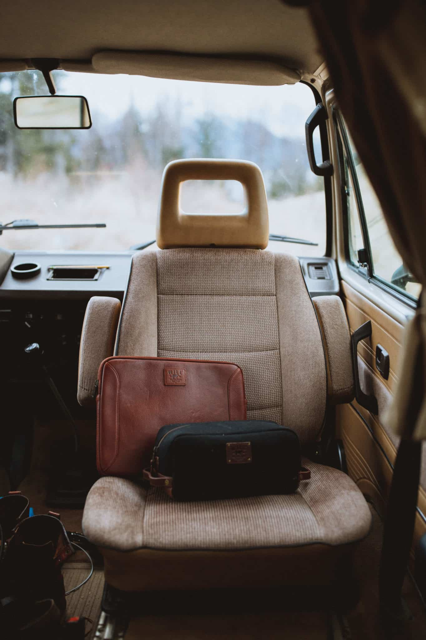Will Leather Goods Laptop Case- What To Wear Alaska Road Trip - TheMandagies.com