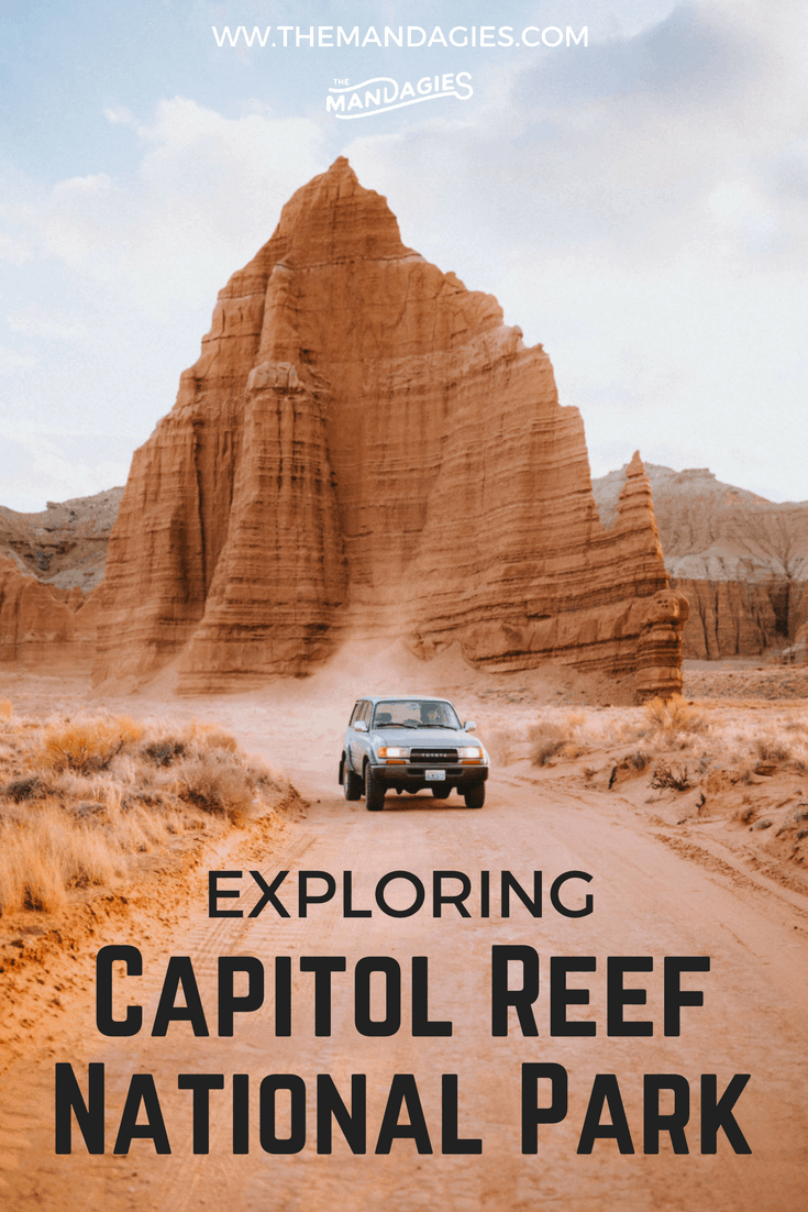 Discover Utah's best-kept secret: Capitol Reef National Park. Here in the heart of the state are towering monoliths, gorgeous canyons, hidden arches and so much more to make your next trip one for the books! #capitolreef #capitolreefnationalpark #utah #might5 #southernutah #photography #outdoorphotography #roadtrip #camping #spring #travel #natgeotravel