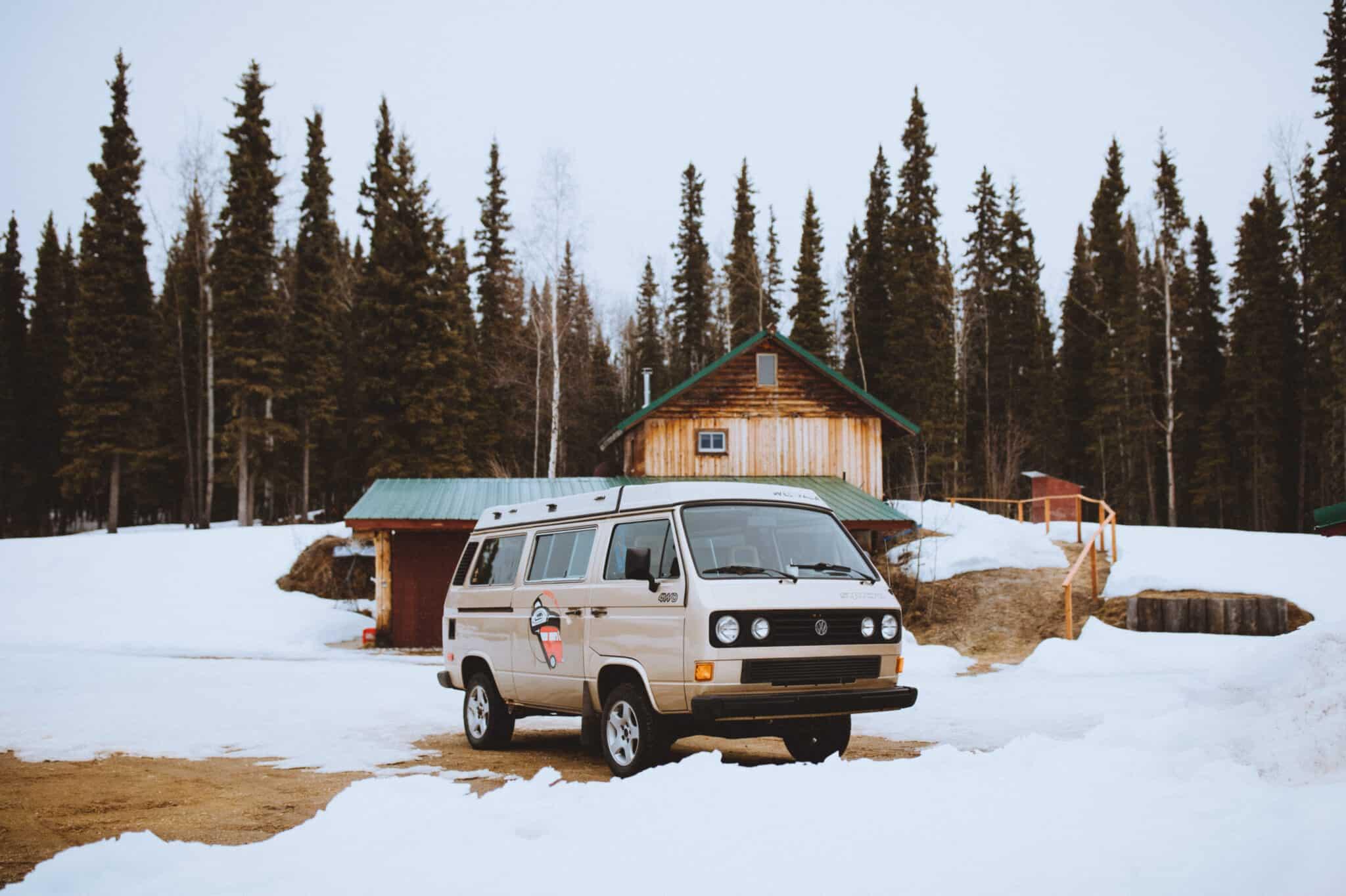 VW Westfalia In Fairbanks, Alaska - TheMandagies.om