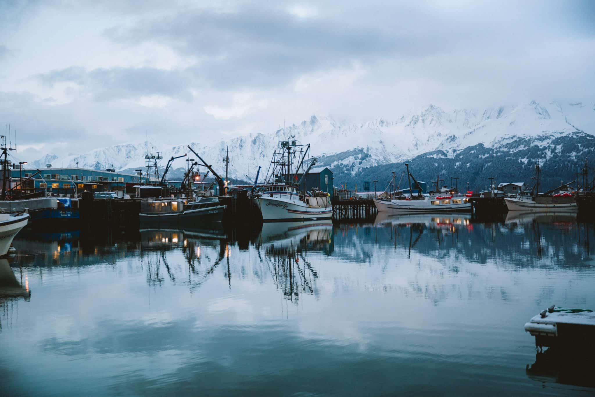 Seward, Alaska Harbor -TheMandagies.com