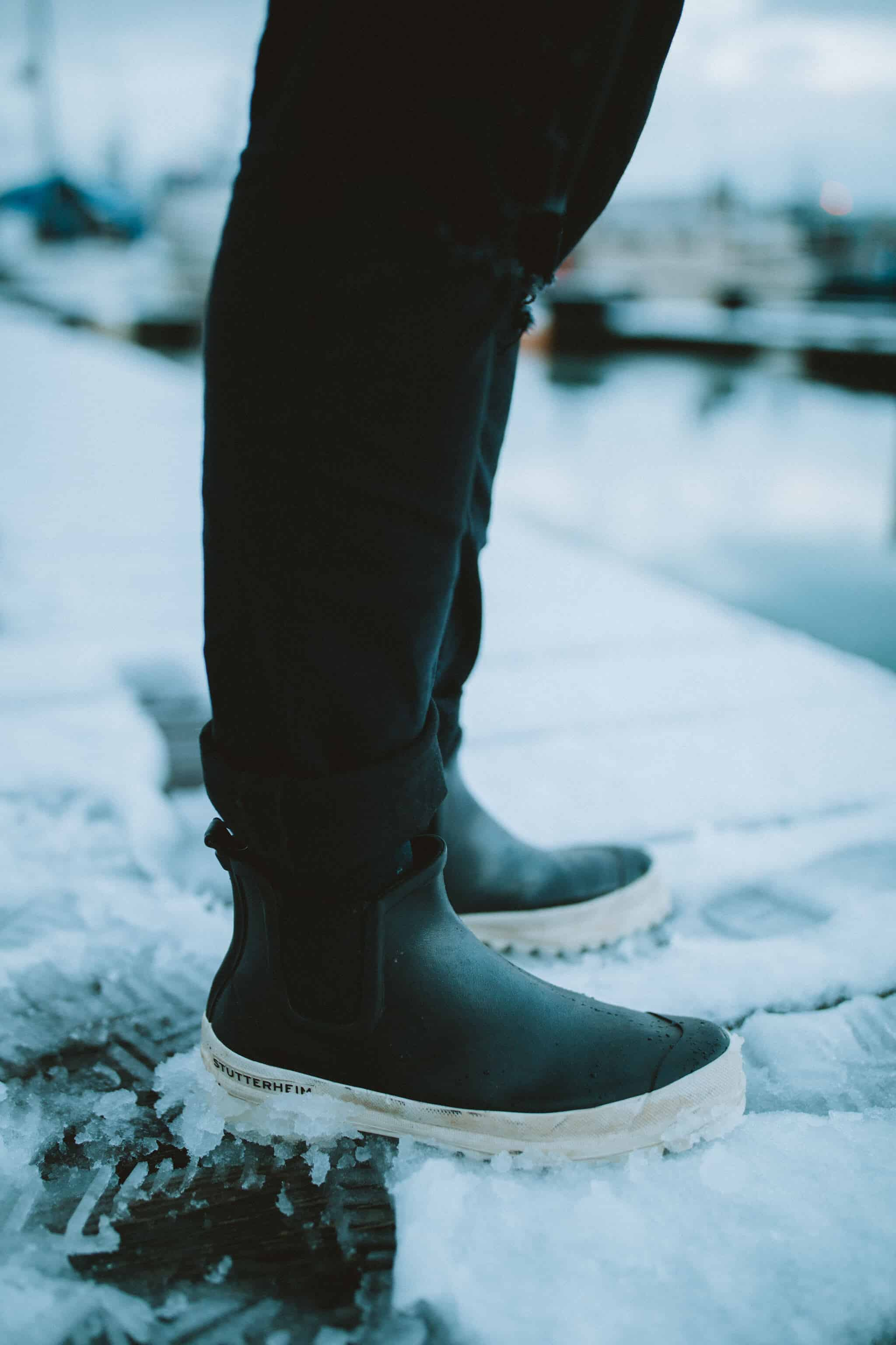 Stutterheim Rain Boots - What To Wear Alaska Road Trip - TheMandagies.com