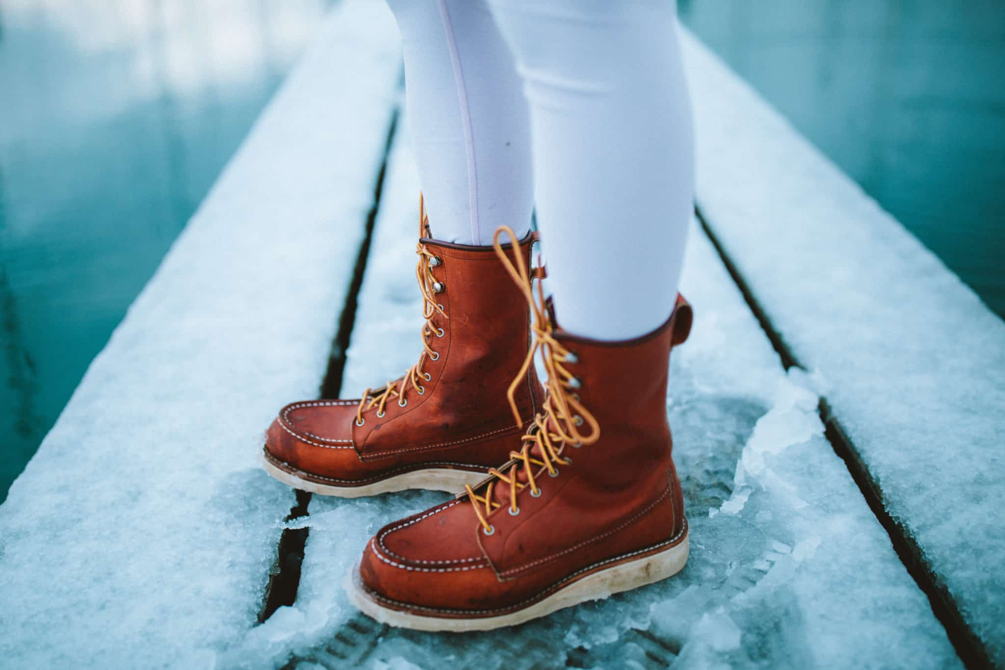 Girl Wearing Red Wing Boots -TheMandagies.com