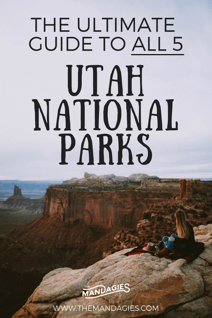 Ready to explore all 5 Utah National Parks? We're sharing the perfect road trip route, stops along the way, camping, hiking, and photography tips along the way! #utah #archesNP #canyonlands #zion #capitolreef #brycecanyon #roadtrip #utah