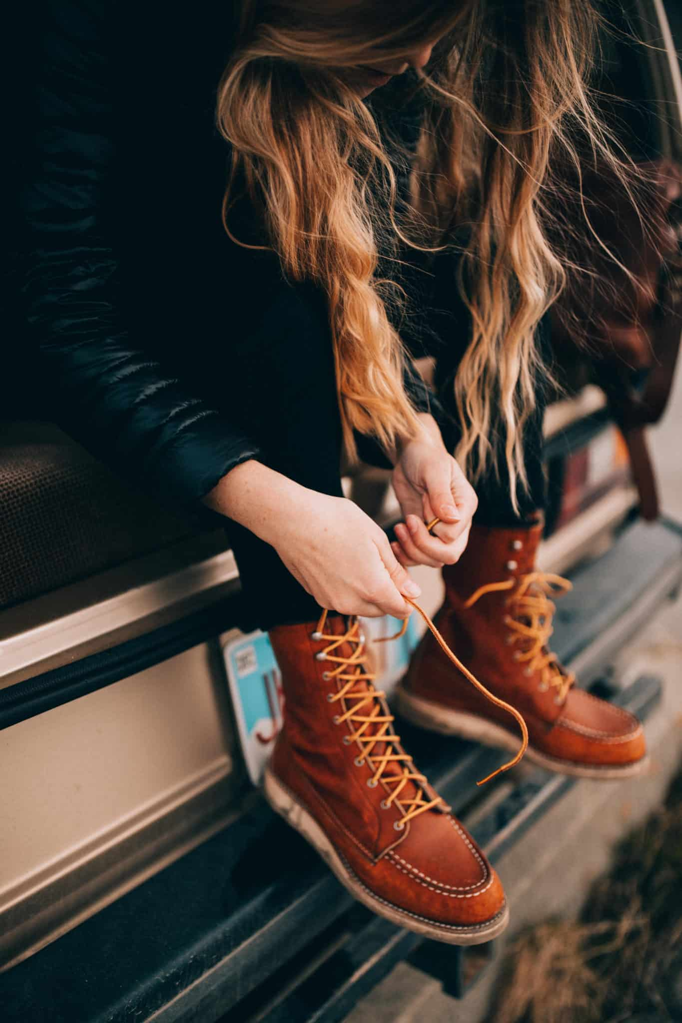 Red Wing Boots - What To Wear Alaska Road Trip - TheMandagies.com