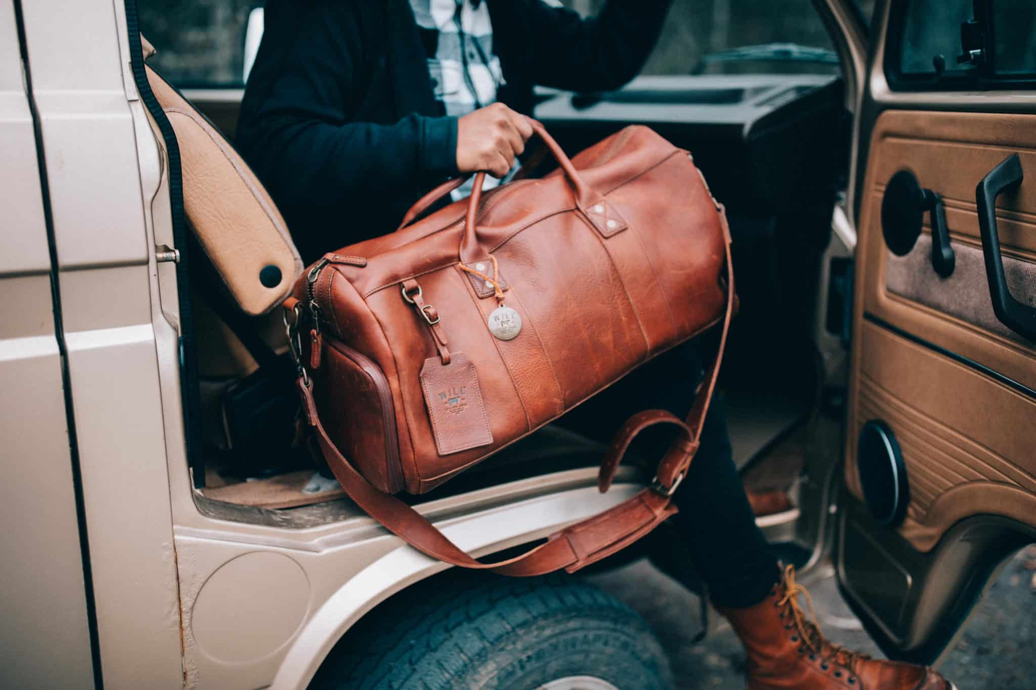 Will Leather Goods Duffel - What To Wear Alaska Road Trip - TheMandagies.com