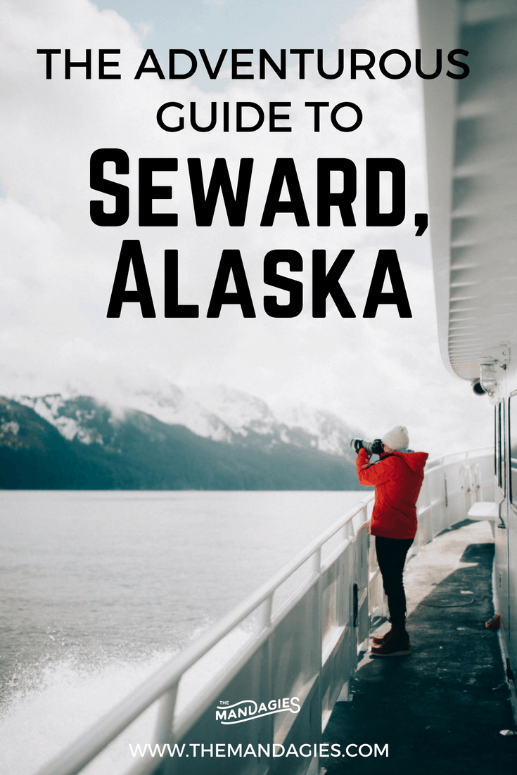 Dive into the beautiful town of Seward, Alaska and explore Ressurection Bay, see marine life, hike glaciers, and so much more! We're sharing what to do, where to stay, and why you should take a whale watching tour with Major Marine Tours! #alaska #seward #whalewatching #exitglacier #glacier #hiking #lastfrontier #kenaifjords #kenaifjordsnationalpark #alaskanps #travel #travelblog #photography #wildlifephotography #naturephotography #landscapes