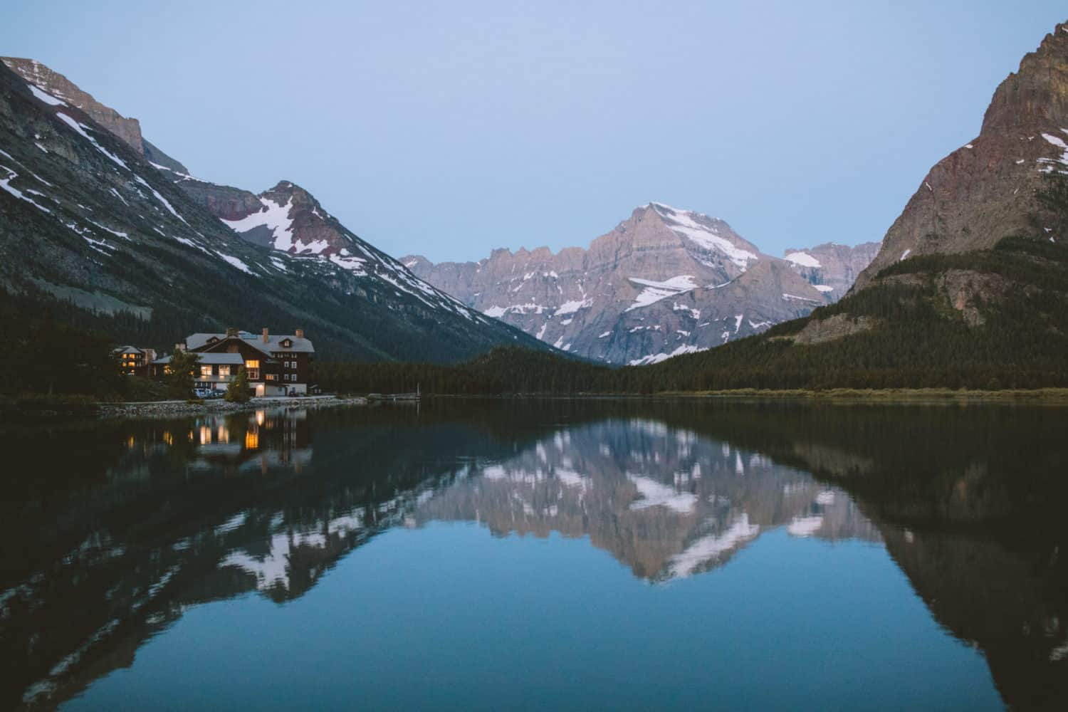Many Glacier Lodge - Glacier National Park, Montana - TheMandagies.com