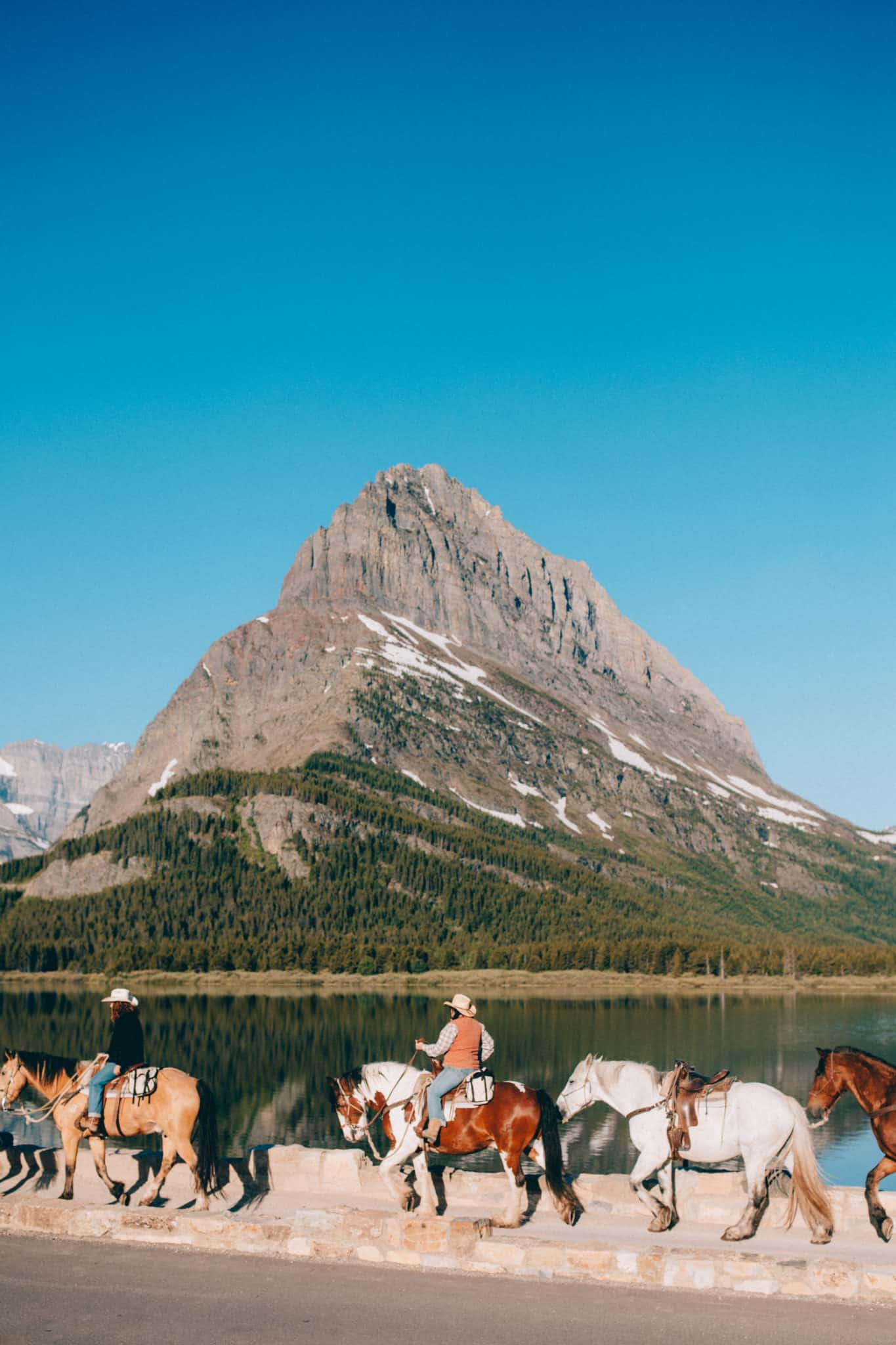 Horses at East Glacier - Travel Photography Tips
