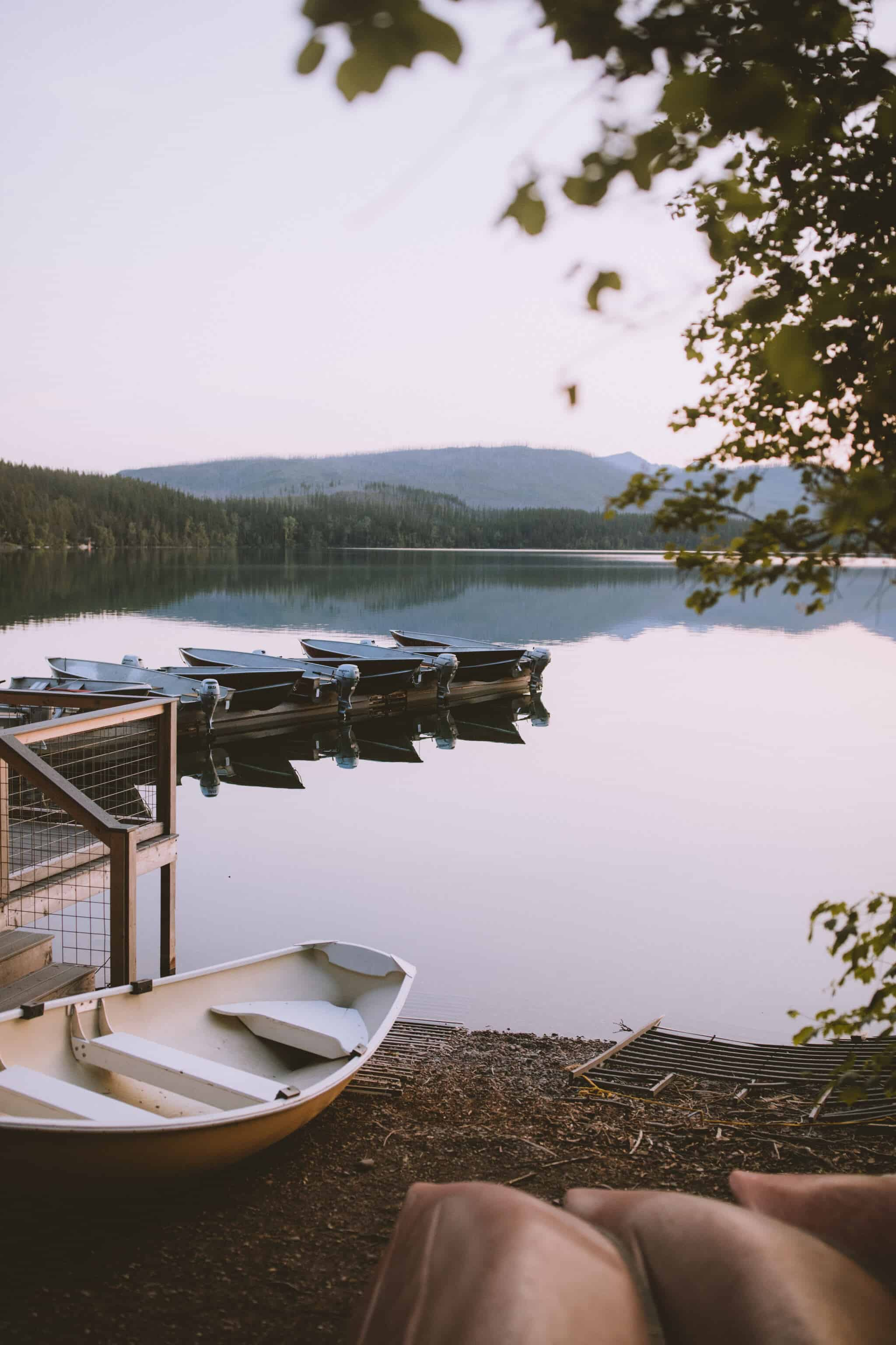 Glacier National Park Itinerary - Lake McDonald