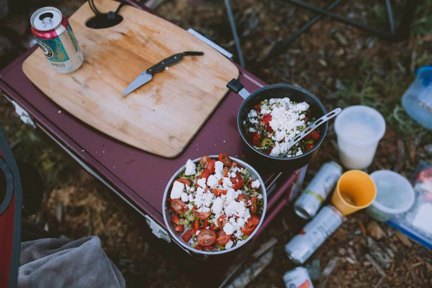 Cheap and healthy camping meals