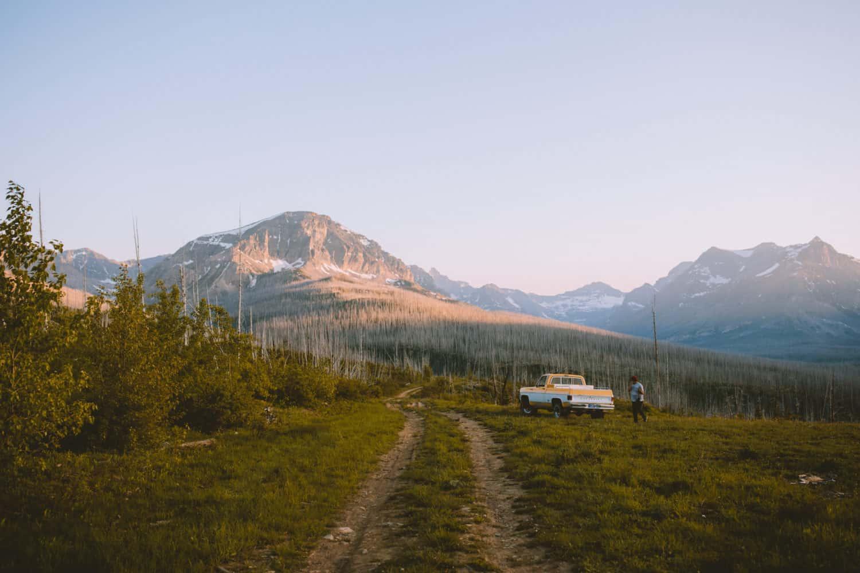 free camp site montana