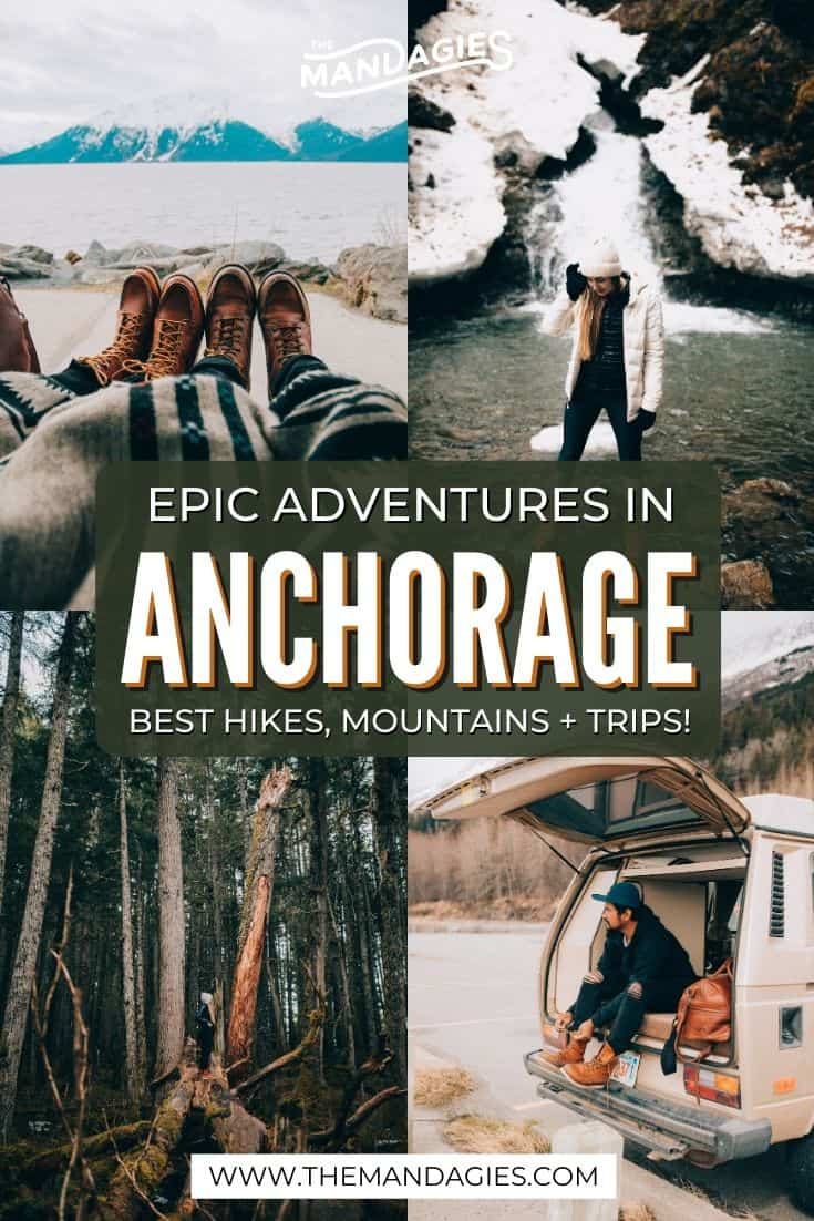 Looking for the best things to do in Anchorage, Alaska?We're sharing the best hikes, day trips, and viewpoints for an adventurous trip in the Last Frontier! #alaska #alaskaroadtrip #anchorage #matanuskaglacier #hatcherpass #turnagainarm #lastfrontier #roadtrip