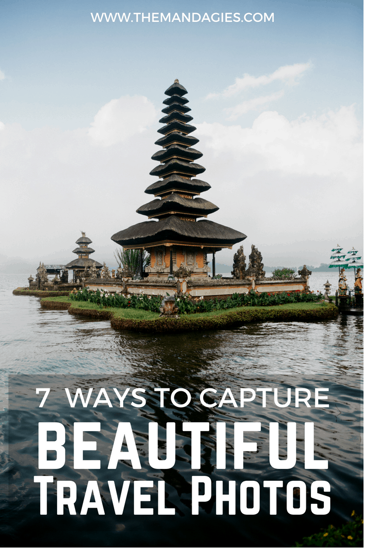 Want to impress people on Instagram with your amazing travel photos? Level up your travel photography with these easy and tangible photo tips! Click this link to read about our steps to capturing amazing pictures on your vacation. #photography #travelphotography #photo #travel #vacation #phototips #artofvisuals #beautifuldestinations #themandagies #worldtravel #instagram #roadtrip