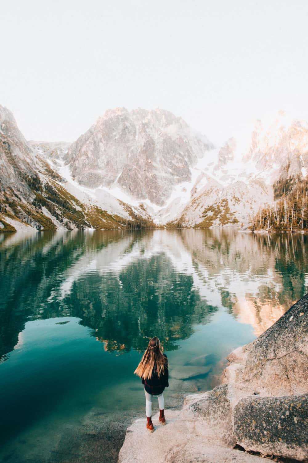 Colchuck Lake - Hiking In The Pacific Northwest - TheMandagies.com