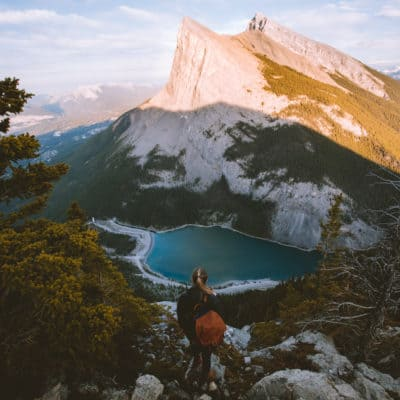The Epic East End Of Rundle Hike (EEOR Trail) in Alberta, Canada