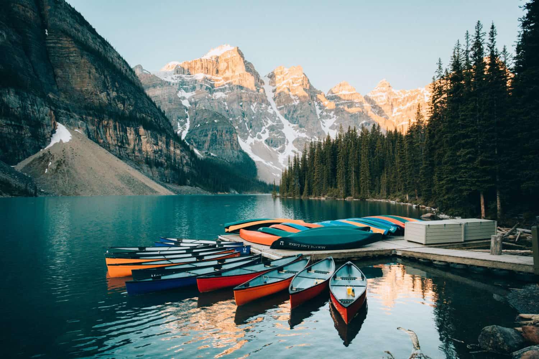 Banff National Park - Moraine Lake
