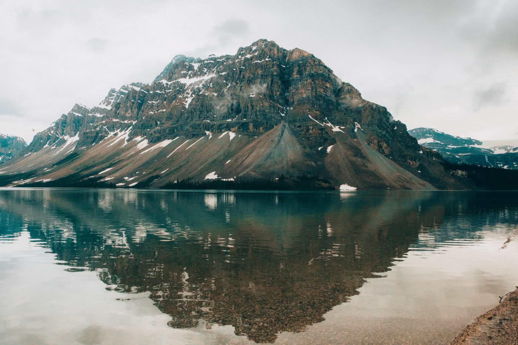 Photo Spots In Jasper National Park - Bow Lake
